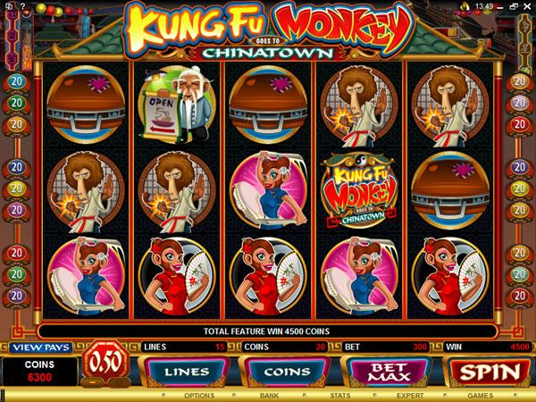 kung-fu-monkey-slot